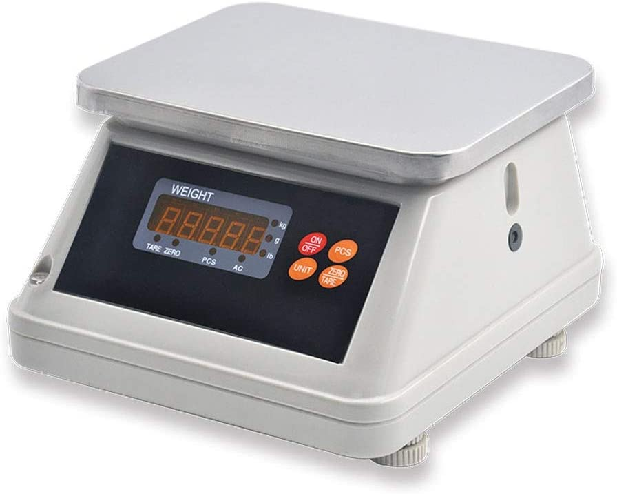 YZSHOUSE Portable Digital Scale Max 53% OFF Stainle Sales results No. 1 Accuracy Multifunctional
