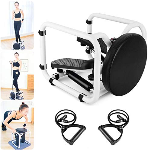 Fitness Machine, Mini Exercise Bike with Elastic Bands, Multifunctional Fitness Equipment, Fitness Chair, Woman