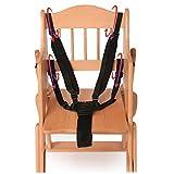 Domybest Harnais 5points Sécurité bébé Sangle de ceinture de sécurité pour...