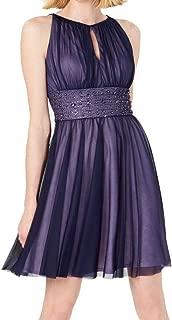 Jessica Howard Women's Keyhole Sleeveless Dress