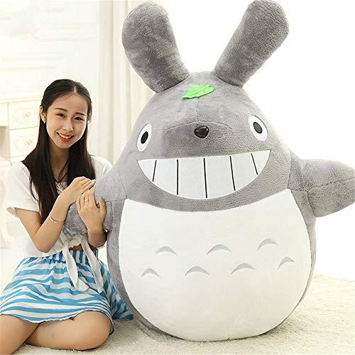 Mooie dieren knuffel huid zonder katoen Hoge kwaliteit Totoro pluche gevulde pop voor kinderen Verjaardagscadeau,A,50cm