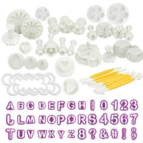 Kurtzy Set Utensilios de Repostería para Decorar Pasteles (