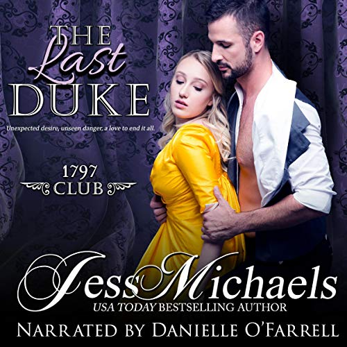 The Last Duke audiobook cover art