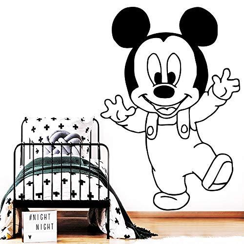 wZUN Cartoon Sticker Vinyl Wallpaper Kids Baby Room Wall Decal Creative Sticker Mouse 30X43cm