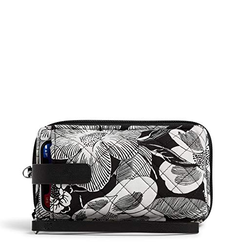 Vera Bradley Signature Cotton Smartphone Wristlet with RFID Protection, Bedford Blooms