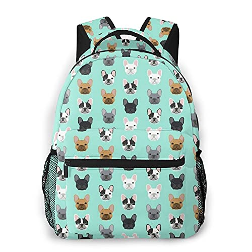 Klazza Cute Pattern Print Animal Backpack Travel School Bag With Multiple Pockets For Kids Adult