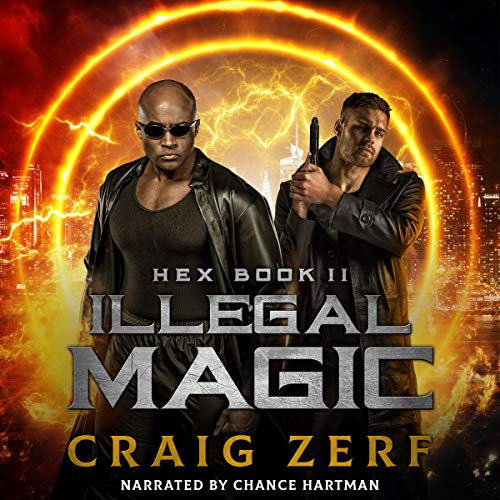 Illegal Magic audiobook cover art