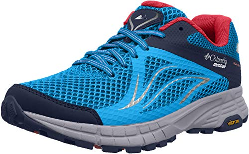 Columbia Women's Mojave Trail II Outdry Trail Running Shoes, Blue (Blue...