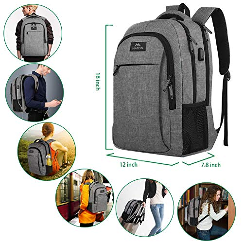 Water Resistant Travel Laptop Backpack