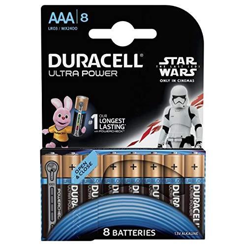Pile alcaline Ultra Power 8 AAA 1,5 V