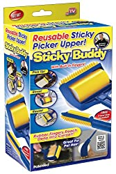 professional Sticky Buddy Reusable Sticky Lint Brush Pet Hair Removal Roller