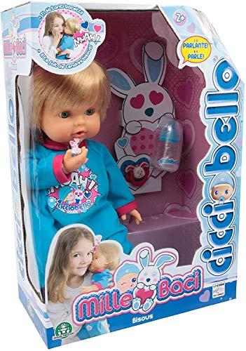 Bambolotto Cicciobello Mille Baci Parlante Giocattolo per Bambini 2+