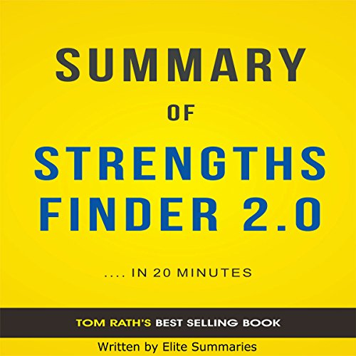 Summary of StrengthsFinder 2.0, by Tom Rath audiobook cover art