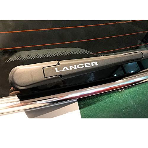 SLONGK 4PCS Car Sport Vinyl Scheibenwischer Dekoration Aufkleber Aufkleber, Für Mitsubishi Lancer 10 3 9 Reflektierende wasserdichte Autozubehör