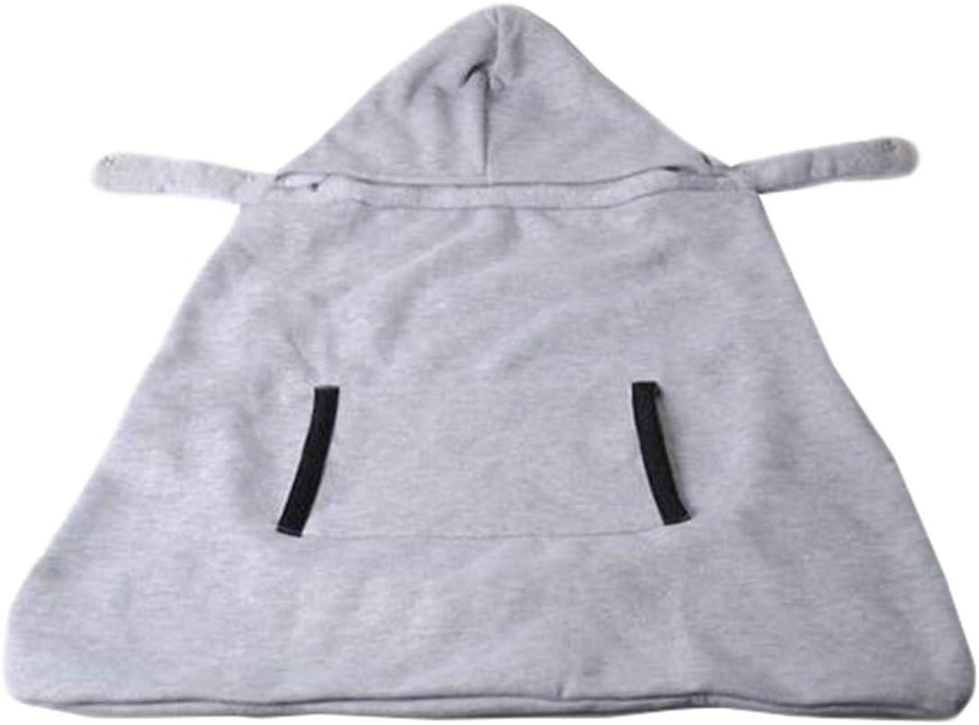 Beb/é Portador de Manta Capa Invierno Espesar Multifuncional Cobertor para portabeb/és Portador para Reci/én Nacidos//Beb/és Manos Libres al Aire Libre Esencial