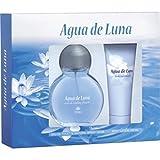 Agua De Luna, Set de fragancias para hombres, Eau de toilette 100 ml + Loción Corporal 100 ml