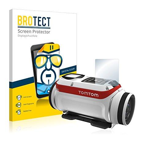 BROTECT Protector Pantalla Compatible con Tomtom Bandit Protector Transparente (2 Unidades) Anti-Huellas