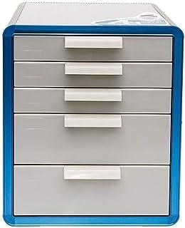 Classeur avec tiroir Armoires fichier bureau Unité de stockage Organisateur forte résistance Collision Confidential verrou...
