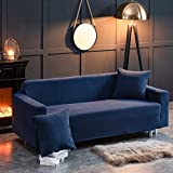 Thick Winter Mais Samt Stretch-Husse Sofa Alles Inklusive Gemeinsamen Festen Slipcover Decken (Farbe : 9, Size : (45 * 45cm) Pillowcase)