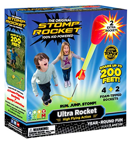 Stomp Rocket Ultra Rocket with...