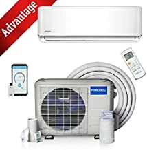 24k BTU 17 SEER MrCool Advantage Ductless Heat Pump Split System 3rd Generation - Wall Mounted