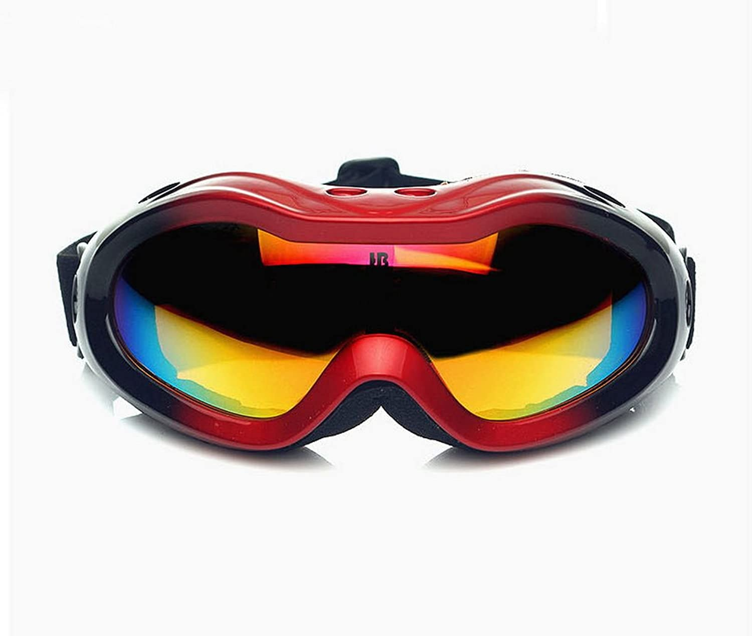 Black&Red Goggles Ski Skating Snowboard Goggles for Kids