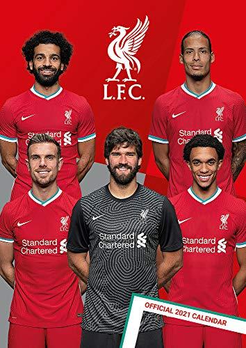 The Official Liverpool F.c. 2021 Calendar