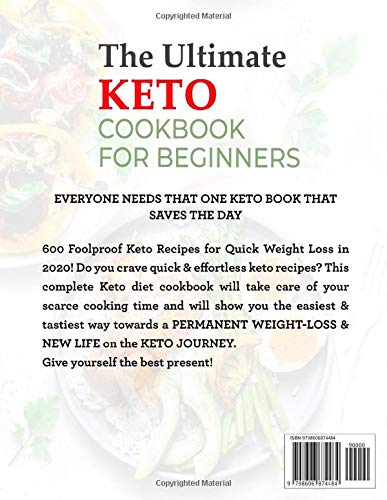 The Ultimate Keto Cookbook: Foolproof, Quick & Easy Keto Recipes for Everyone (Keto Cookbook for Beginners) 2