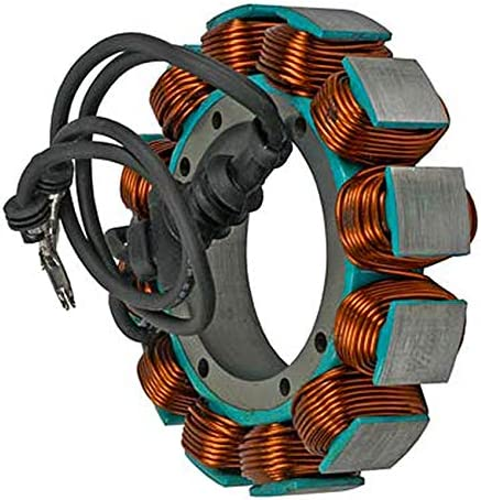 Rareelectrical NEW 12V 45A STATOR COMPATIBLE WITH HARLEY DAVIDSO