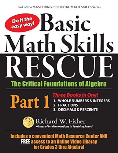Basic Math Skills Rescue, Part 1: The Critical Foundations of Algebra