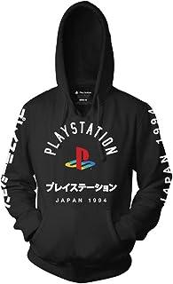 Ripple Junction Playstation - Sudadera con capucha para adultos, unisex, con diseño de logotipo con manga