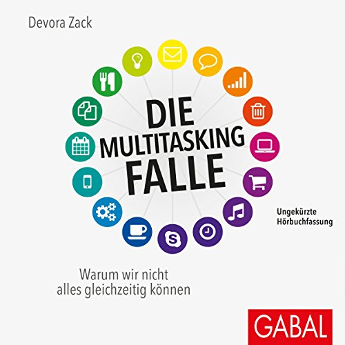 Die Multitasking-Falle audiobook cover art