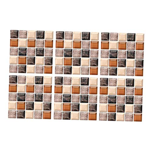 Non-brand Etiqueta Adhesiva de Mosaico de Azulejos, Línea de Cocina, Adhesivos de Pared a Prueba de Agua