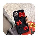 Fashion DIY Bowknot Girl Style Coque en peluche pour Huawei P40 P30 P20 Lite Pro P10 Plus Mate 40 9...