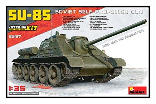 Unbekannt Mini Art 35187 – Modélisme Jeu de Su 85 Mod. 1943, Mid Production