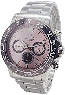 エルジン ELGIN クオーツ クロノ メンズ 腕時計 EG-002-P ピンク [並行輸入品]