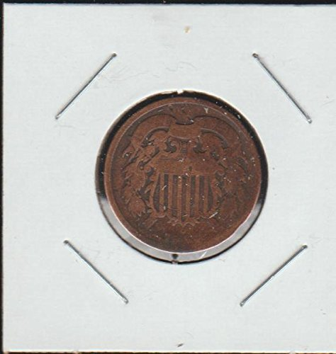 1864 Shield Two Cent (1864-1873) Two-Cent Very Good