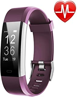Lintelek Fitness Tracker with Heart Rate Monitor, Activity Tracker with Connected GPS,..