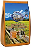 Nutri Source Lamb Meal & Peas Formula Dog Food, Grain Free, 5 lb, for Dogs
