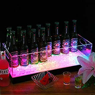 Wine bucket ,ice buckets for parties , Creative LED Cooler Bucket Light Colorful Charging Bar Champagne Bucket, Plastic Beer Ice Bucket Ice Bucket Barrel Ingot Ice Bucket Bar KTV Ice Bucket Barrel Lum