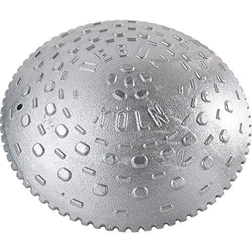 TMS PRO SHOP Kölner Teller, Tempostopper, extrem belastbar, Aluguss, Ø 30 cm, Höhe: 5,7 cm aus Aluminium