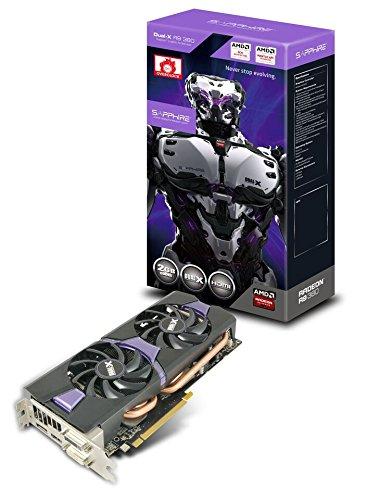 Sapphire Radeon R9 380 2GB GDDR5 DL-DVI-I/DL-DVI-D/HDMI/DP Dual-X OC Version (UEFI) PCI-E Graphics Card 11242-02-20G