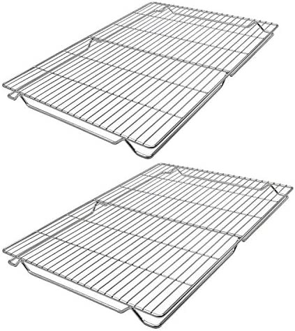LANEJOY 100 304 Stainless Steel Cooling and Baking Rack Oven Safe Heavy Duty Commercial Quality product image