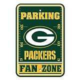 Fremont Die NFL Green Bay Packers Kunststoff-Parkschilder