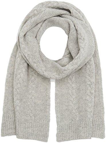 Liebeskind Damen W1179540 knit Schal, Grau (Grey Melange F 93X1), One Size (Herstellergröße: N)