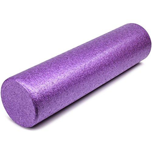 Yes4All EPP Exercise Foam Roller - Extra Firm High Density Foam Roller...