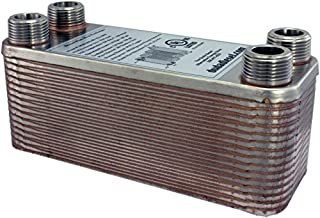 Duda Energy HX1230:M34 B3-12A 30 Plate Stainless Steel Heat Exchanger with 3/4