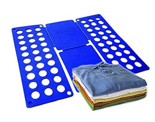 ISO TRADE Faltbrett Größe 60x70cm Wäschefalter T-Shirt Pullover Hemden Faltenfrei Praktisch 637