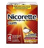 NICORETTE Gum 4 MG KIT CINNAMN 100