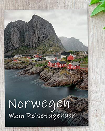 Reisetagebuch Norwegen zum Selberschreiben | Tagebuch mit viel Abwechslung, spannenden Aufgaben, tollen Fotos uvm. | gestalte deinen individuellen Reiseführer für Skandinavien | Calmondo